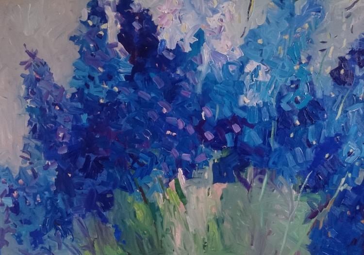 Blue garden - Image 0