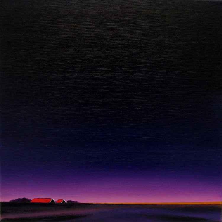 The start of a purple night -