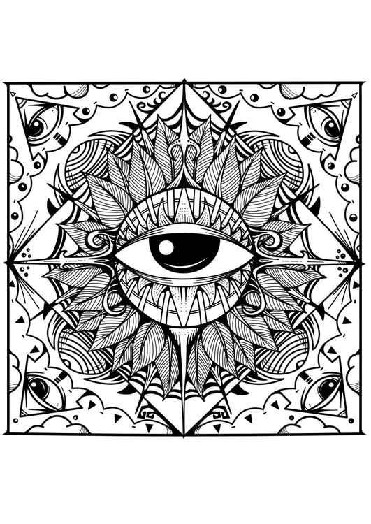 Squared Eye -