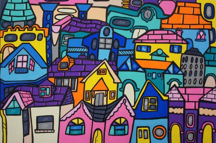Vivid Cityscape - Image 0