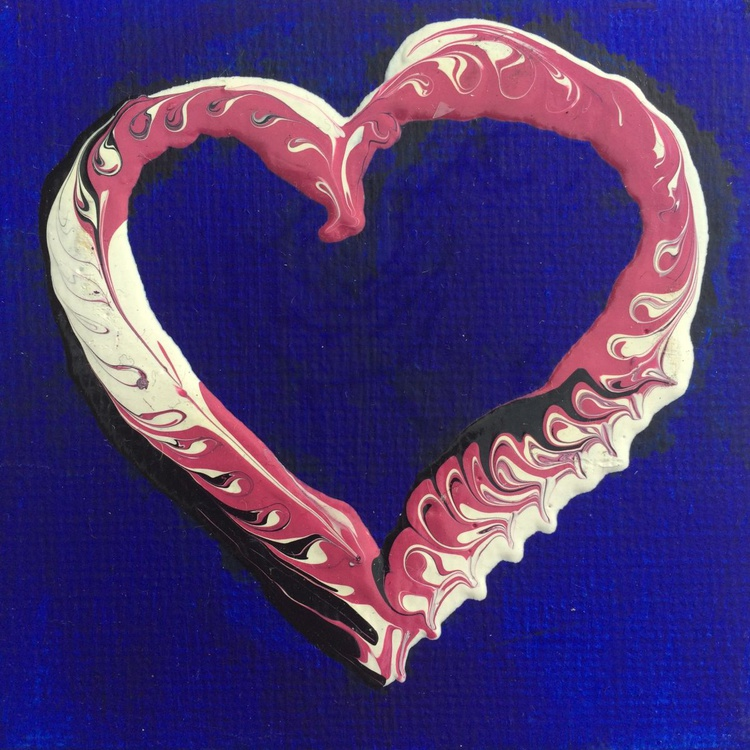 Patterned Heart - Image 0