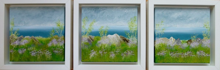 Clifftop Triptych - Image 0