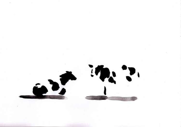 Two cows 3021D -