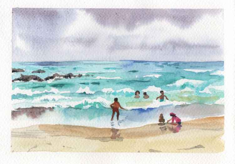 Waves, Koh Samet -