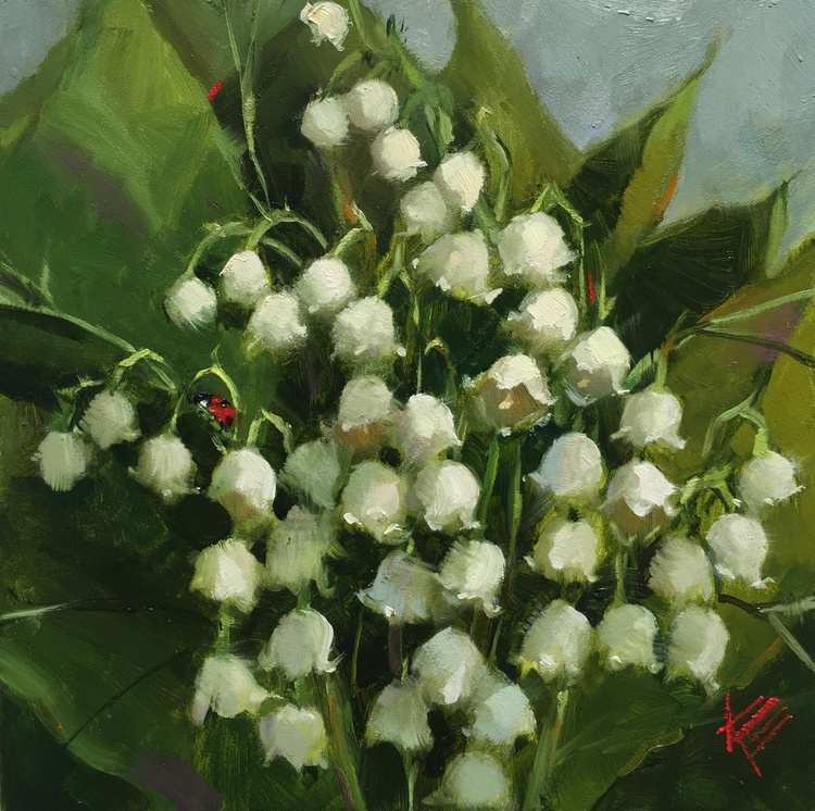 Lily of the Valley & Friend - Image 0