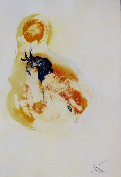 Capricorn (Zodiac collection), 20x30 cm - Image 0