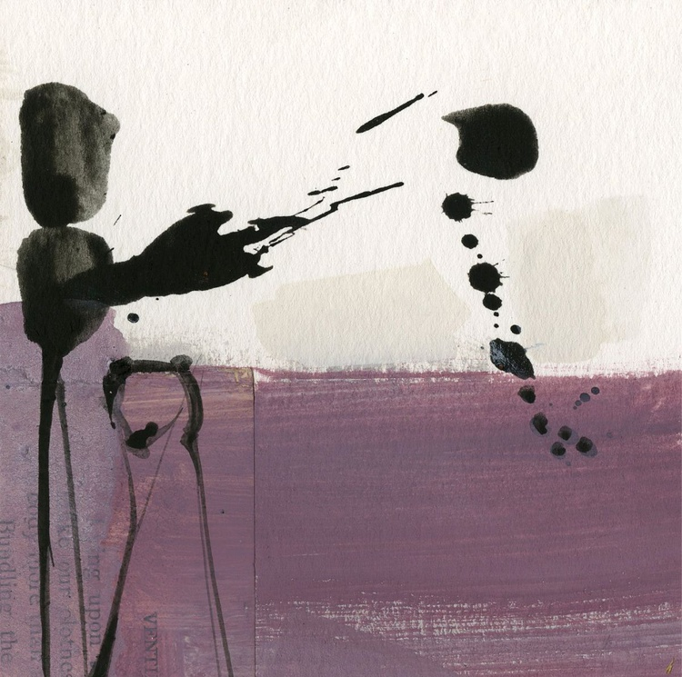 Abstraction 16 - 31 - Abstract Mixed Media Painting - Image 0