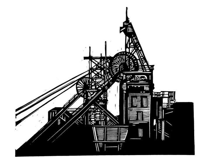 Silverwood Colliery Winding Gear - Image 0