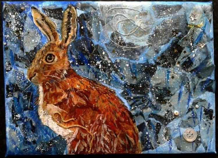 Hare at night - Image 0