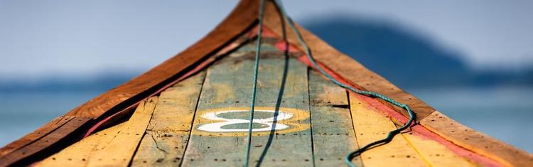 Boat No. 8 (305x102cm) - Image 0
