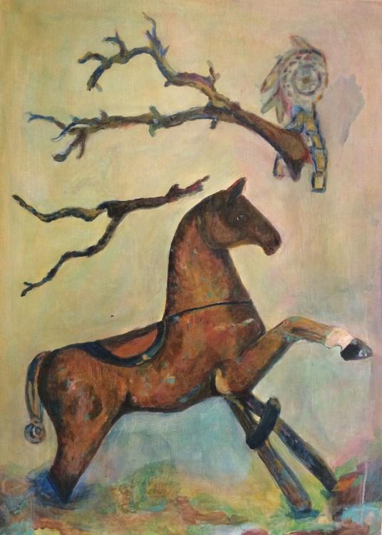 Carrousel de chevaux - Image 0