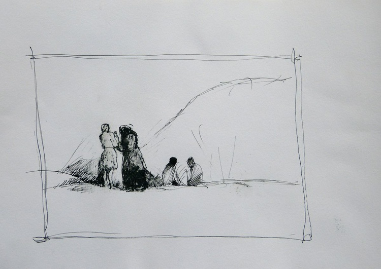 Discussion, 21x29 cm - Image 0