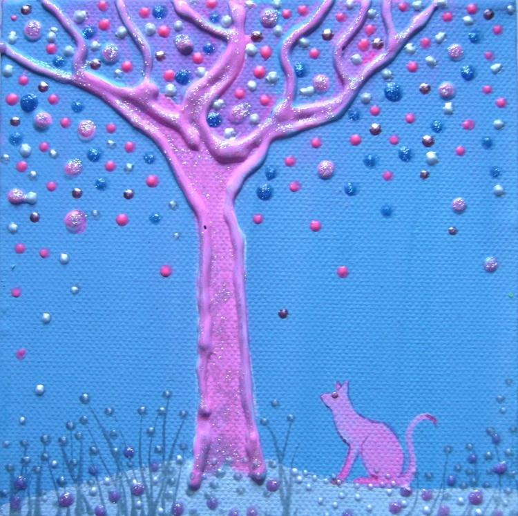 Little pink cat - Image 0