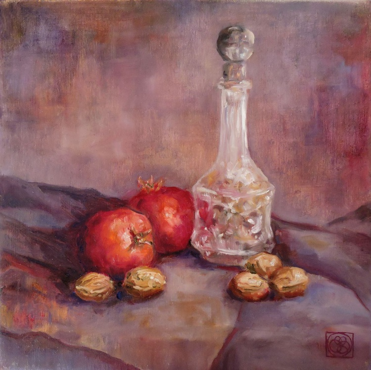 Still Life (With Crystal Decanter) - Image 0