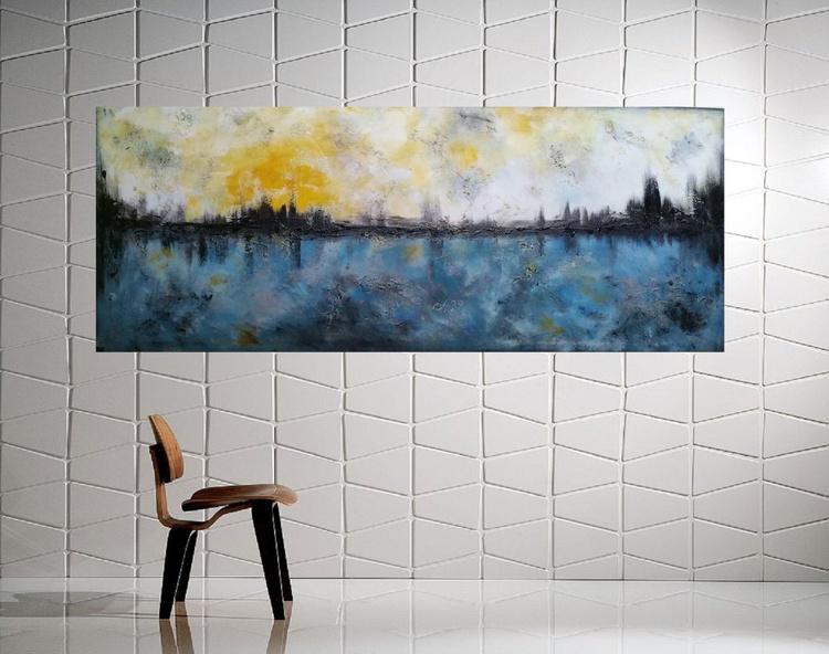 """59x 23,5""""( 150x60cm),  Avignon 2 Landscape - Image 0"""