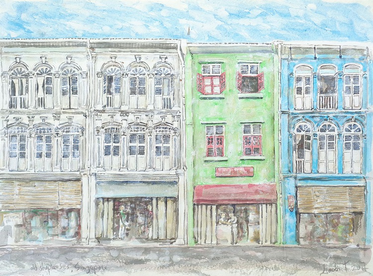 Old Shophouses , Singapore - Image 0