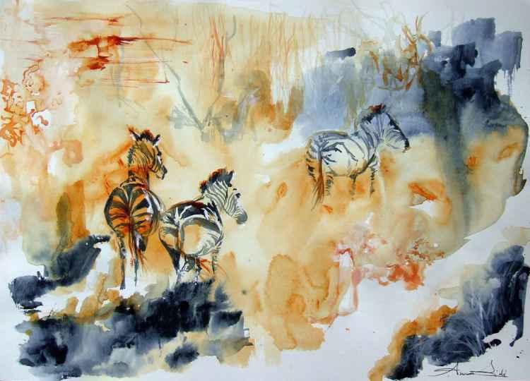 Migrating Zebras