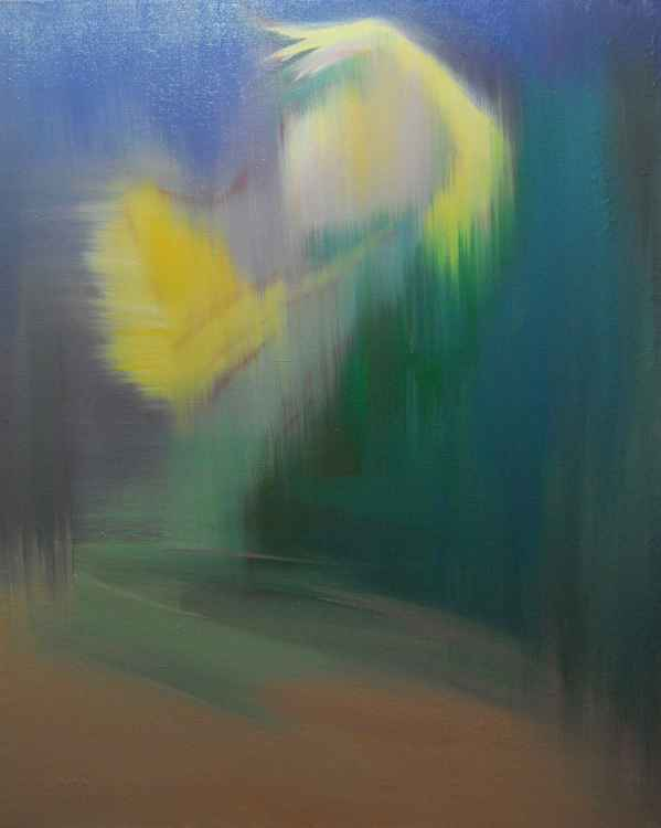 "Modern abstract painting ""Wings"""