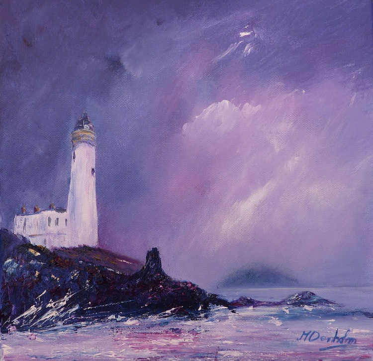 Turnberry Lighthouse and Ailsa Craig - Image 0