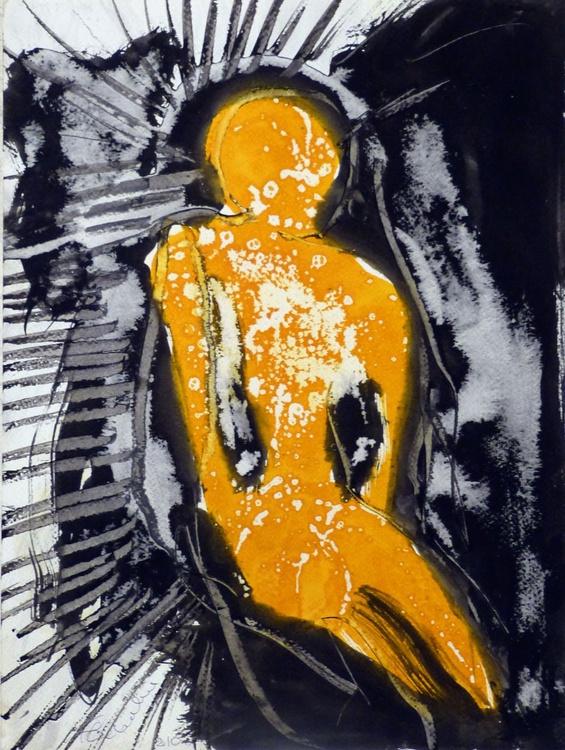 Ink on Paper #272, 29x41 cm - Image 0
