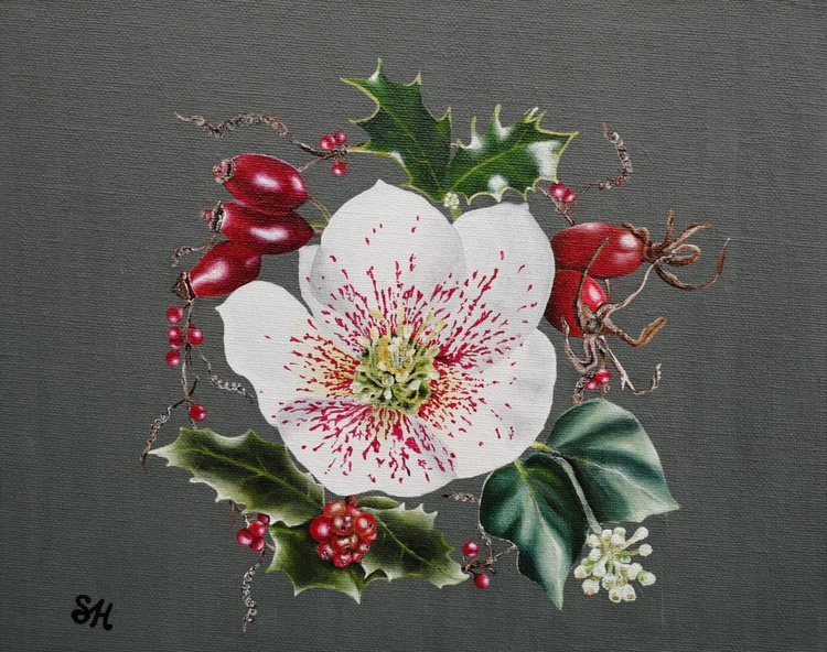 Hellebore and Rosehip - Image 0