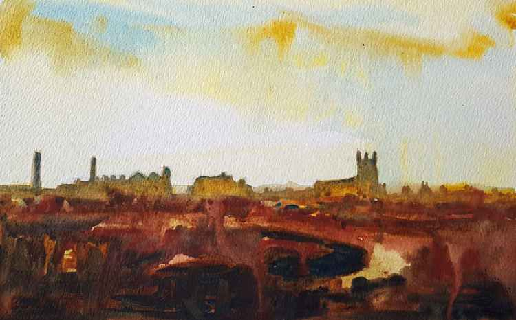 Burnley Skyline -