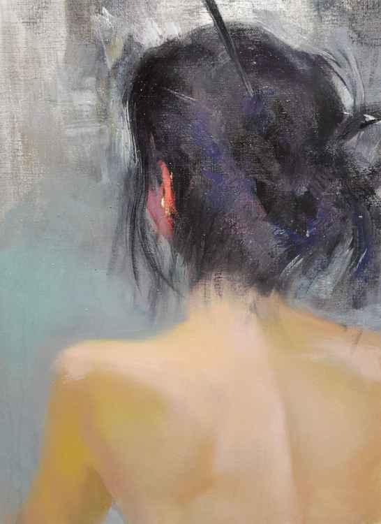 """Nude painting, """" Ju """" -"""