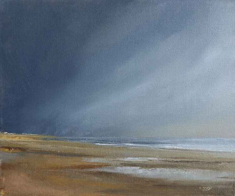 Beach scene -