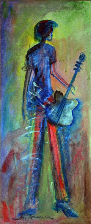 """""""The Guitar Player"""" - Image 0"""