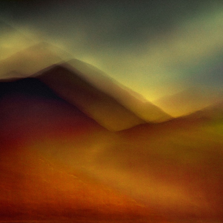 The Hill Path Extra large Abstract 40 x 40 inch CANVAS  No 3/10 with FREE SHIPPING - Image 0