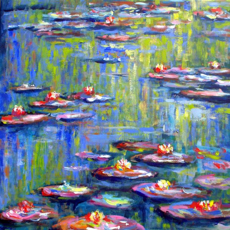 Waterlilies in Monets garden 3 - Image 0