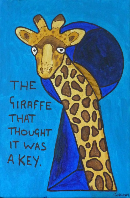 The Giraffe that thought it was a key - Image 0