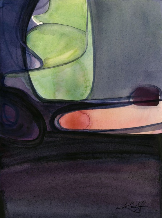 Introspection No. 18 - Abstract watercolor - Image 0