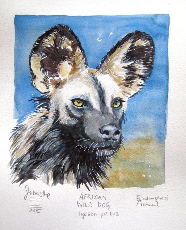 AFRICAN WILD DOG - ENDANGERED ANIMAL SERIES - Image 0