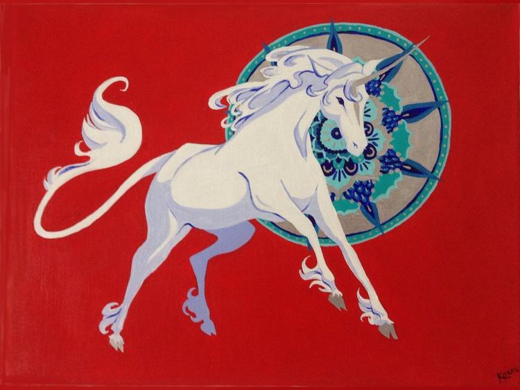 Unicorn Mandala - Image 0