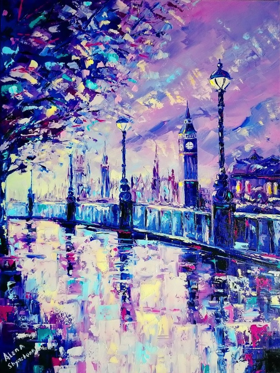 Wonderful London, Size 60 X 80cm - Image 0