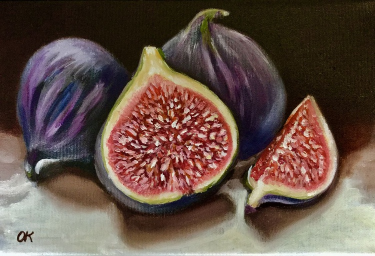 Figs #perfect gift  #classical still life - Image 0