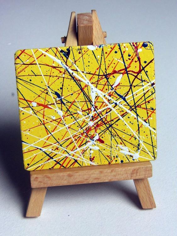 Strokes EXes #1, yellow - Image 0