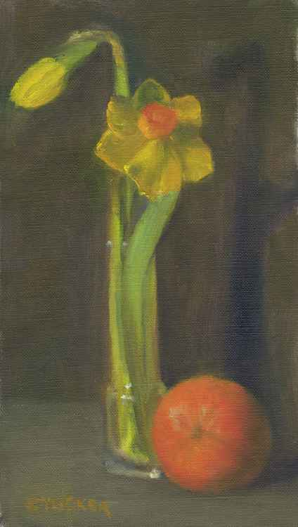 Daffodils and Orange