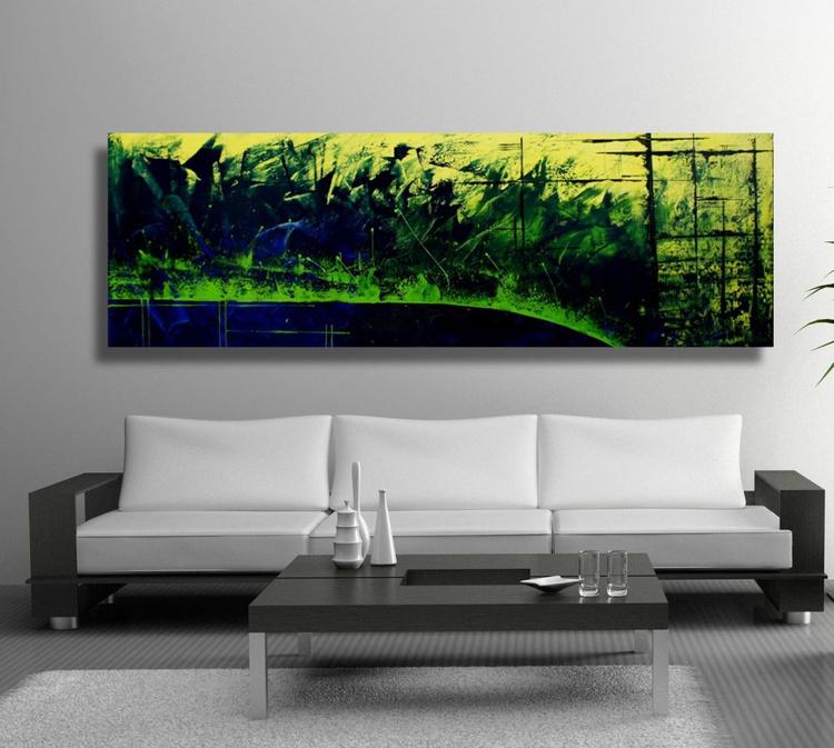 Industrialization (50 x 150 cm) - Image 0