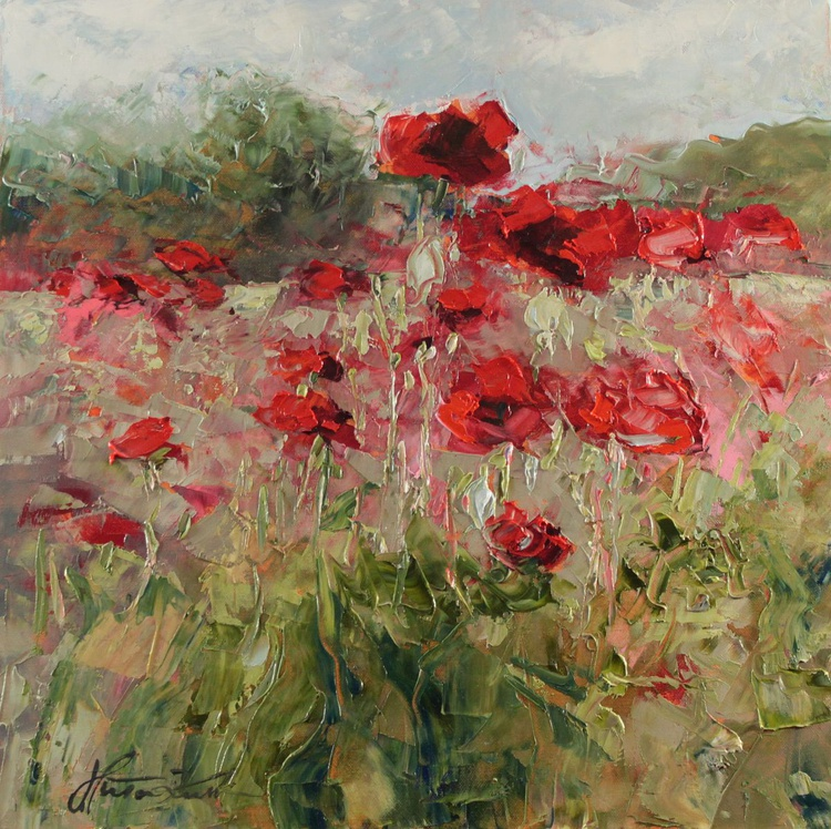 Poppies on the field - Image 0