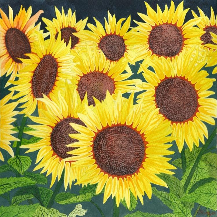 Yellow sunflowers - Image 0