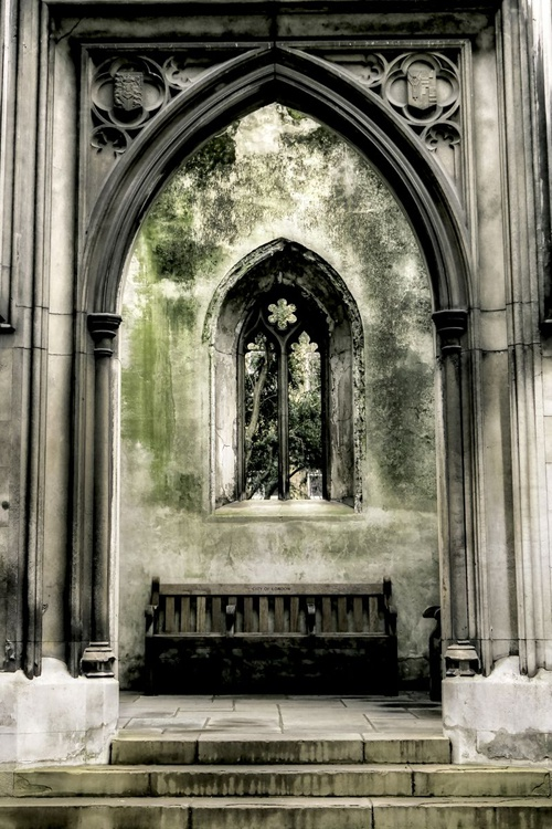 Church window : Take a seat  (Limited edition  1/150) 8X12 - Image 0