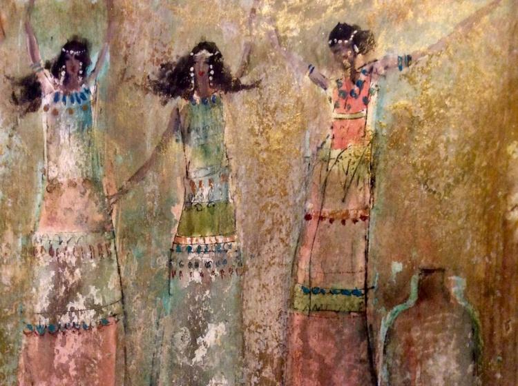 Ancient Dancing Girls - Image 0