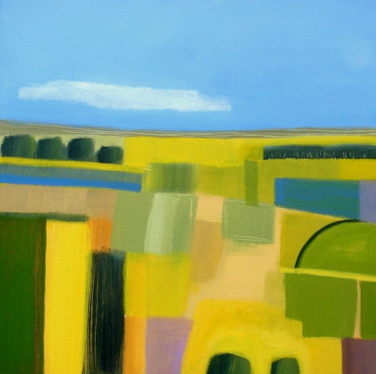 Abstract Surrey Landscape 2 - Image 0