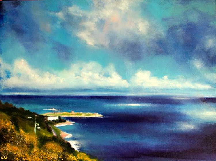 Light on Water, Killiney Hill - Image 0