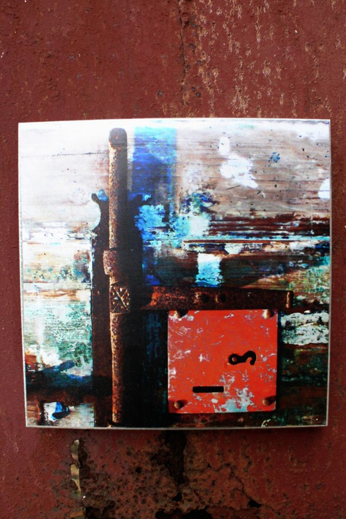 Disappearing Memory Series - Old Wall - Printed Steel Wall Decor - NO 8 - Image 0