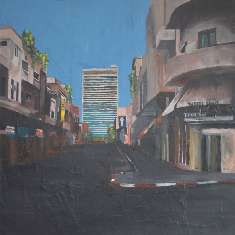 Tel Aviv, Street Without People - Image 0