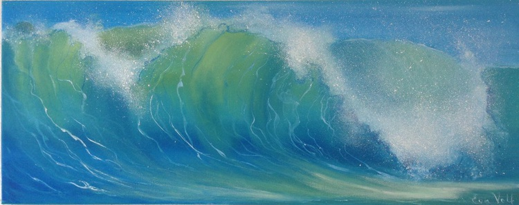 """The Voice of the Sea VII 30x12"""" - Image 0"""
