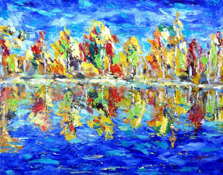 Fall by the Lake -